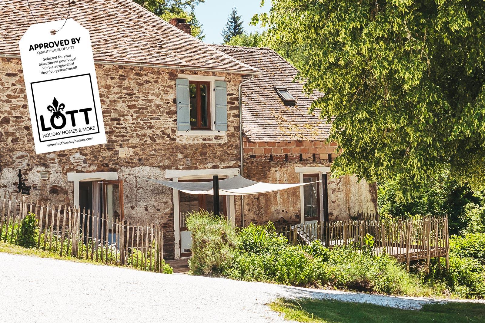 LOTT holiday homes & more vakantiehuizen verhuurbedrijf voor vakantiehuizen. Sfeerbeeld 2-4 persoons vakantiehuis in Frankrijk!
